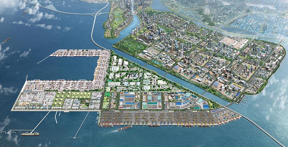 DesignPorts Harbors SOOSUNG ENGNEERING - Port design