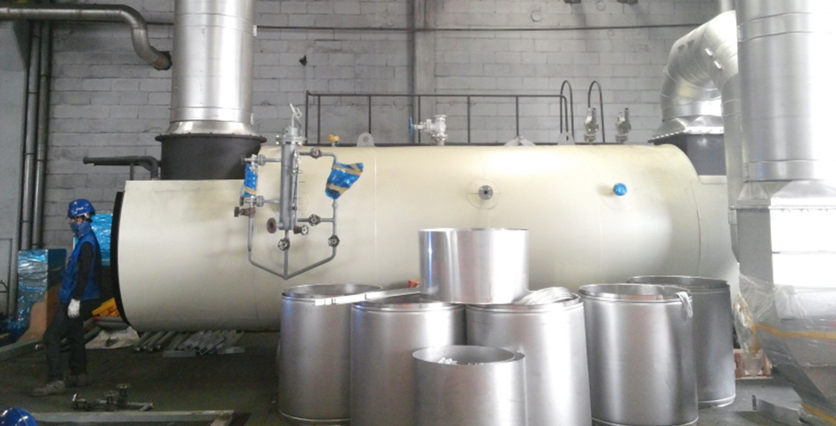 Installation of Waste Heat Recovery Boiler